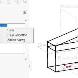 Właściwości szkicu 3D
