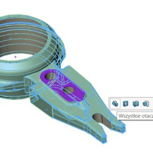 Dodatkowa warstwa materiału w modelu 3D