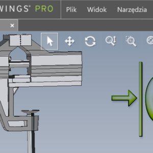 Nowy dokument części/złożenia w przeglądarce eDrawings