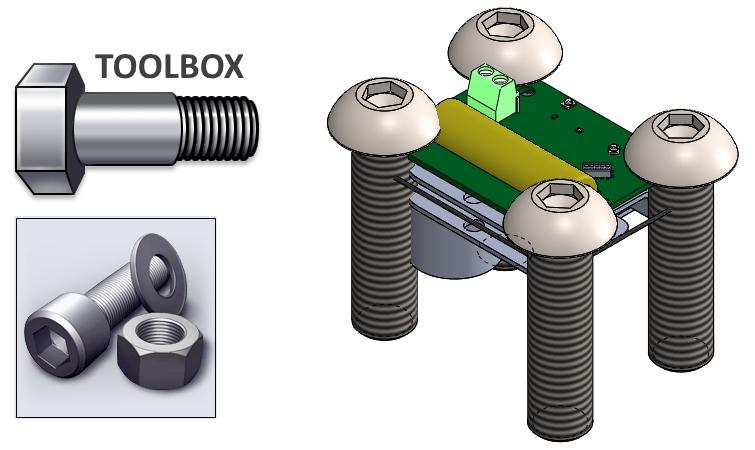 Dlaczego śruby z Toolbox'a zmieniają rozmiary? - SOLIDWORKS BLOG