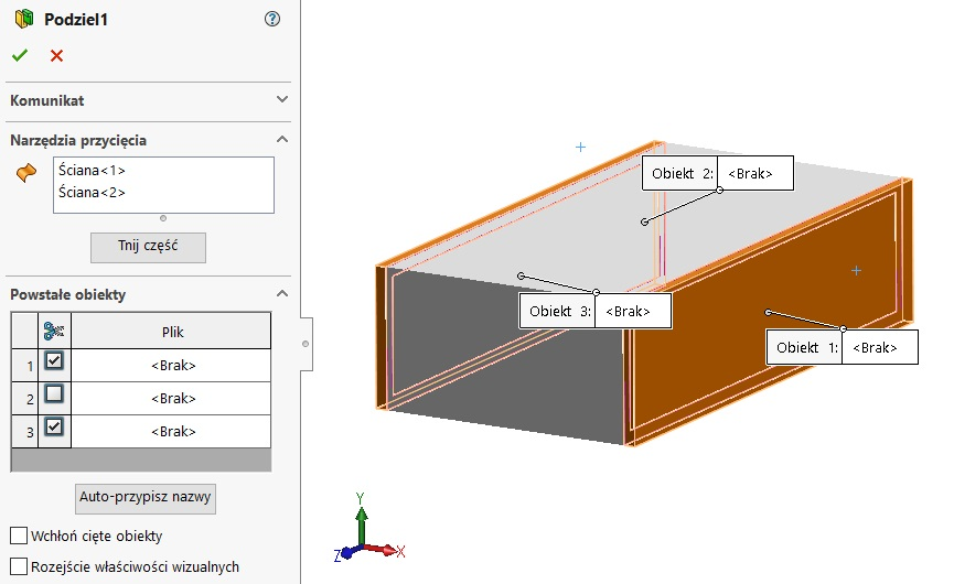 meble w solidworks