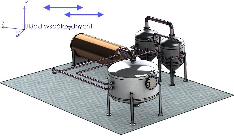 Przyciąganie układów współrzędnych podczas wstawiania części do złożenia