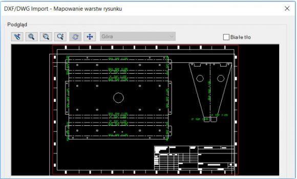 Rozbicie DWG/DXF na warstwy podczas konwersji na 3D