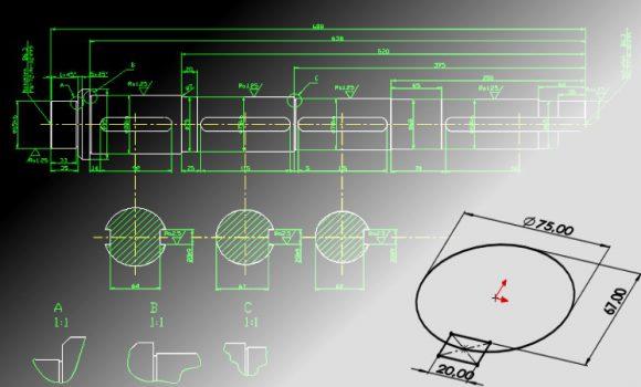 Przytnij elementy zostawiając szkic konstrukcyjny