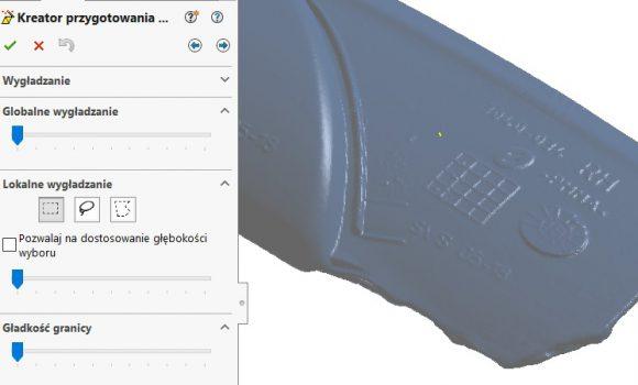 Sprawdź jak działa lokalne wygładzanie w dodatku ScanTo3D