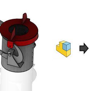 Zachowaj odniesienia geometrii podczas zapisu złożenia do części