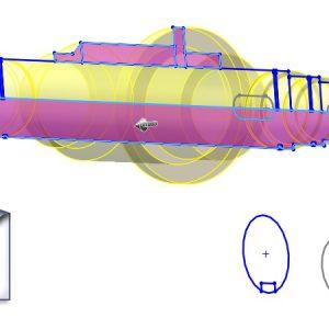 Sprytna metoda konwersji DXF na bryłę – w jednym kroku powstają dwa obiekty!