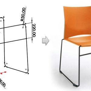 Projektujesz meble? Zobacz w jaki sposób używać szkicu 3D