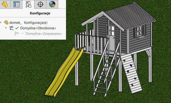 Konstrukcje spawane – konfiguracje obrobiona i zespawana