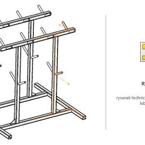 Wymiarowanie konstrukcji spawanej od osi do osi