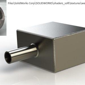 Realistyczne pokazanie spoin, czyli rendering konstrukcji spawanej