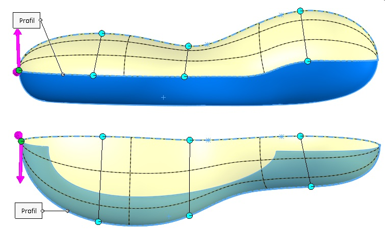 Dodaj złącze lekarstwem na skręcenie powierzchni podczas wyciągnięcia