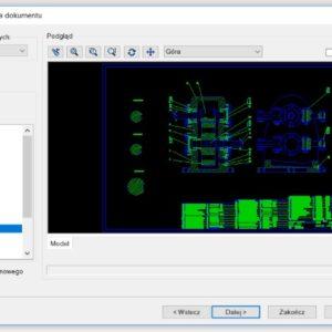 DWG/DXF bez warstw, czyszczenie podczas otwierania pliku