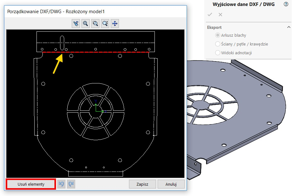 dwg/dxf solidworks