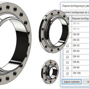 Zapisywanie konfiguracji w oddzielnych częściach bez makra
