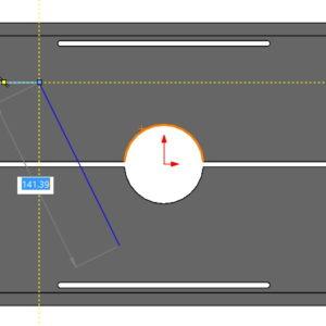 Włącz regulacje numeryczną – wymiarowanie w stylu Autocad