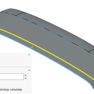 Skrócenie powierzchni, metoda oczywista i nieoczywista