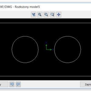 Czyszczenie pliku arkusza blachy przed zapisem do DWG/DXF