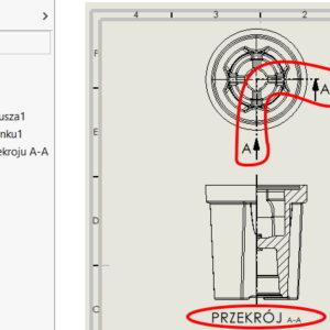 Zarządzanie ukrywaniem/pokazywaniem na przykładzie rysunków