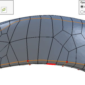 Edycja linii operacji w ScanTo3D poprawia znacząco wyniki konwersji