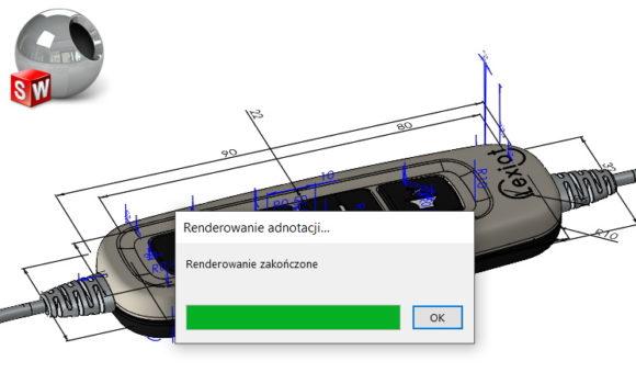 Uwzględniaj wymiary i/lub adnotacje w ostatecznym renderze