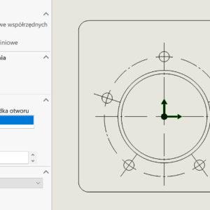DimXpert – wymiarowanie we współrzędnych biegunowych