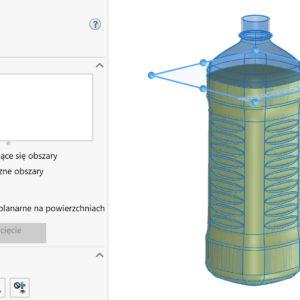 Obliczenie pojemności zbiornika/butelki dwoma sposobami